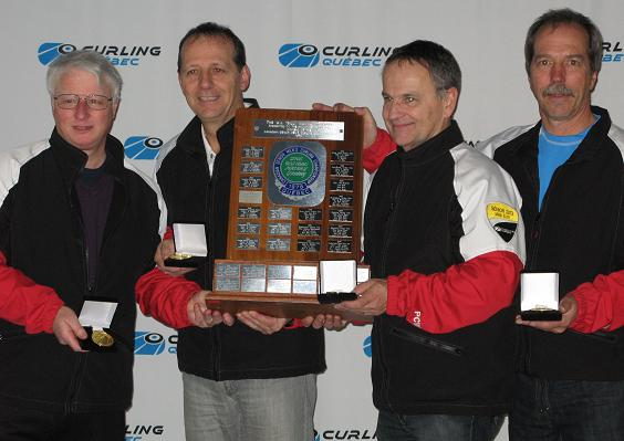 2013 Quebec Senior Men's curling champions