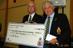 2016 donation to Lakeshore Housing Manoir Cavagnal