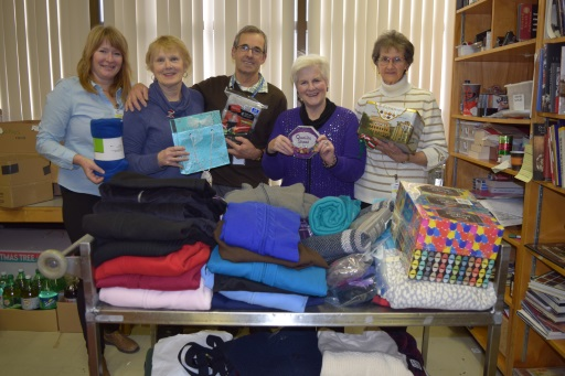 2016 Hudson Legion  Christmas Gift Drive volunteers