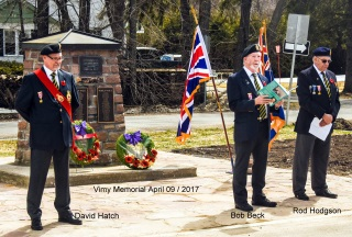 2017-04-09 Battle of Vimy Ridge memorial