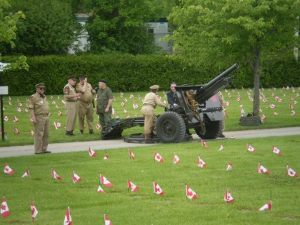 2017-06-03 Field of Honor ceremony
